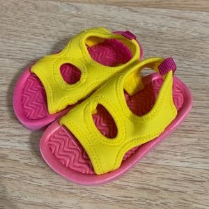 Children's Place Yellow and Pink Water Sandals